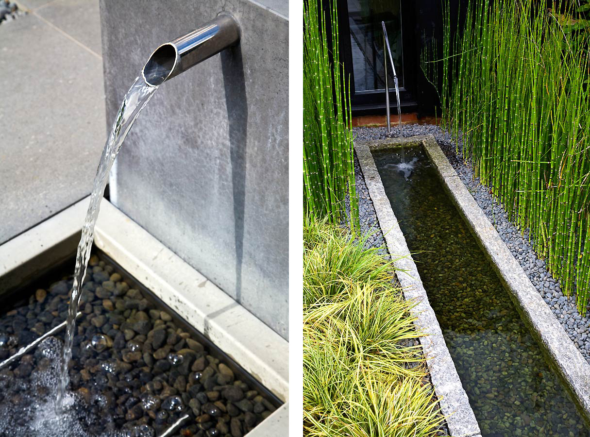 Anthony Paul Landscape Design water features